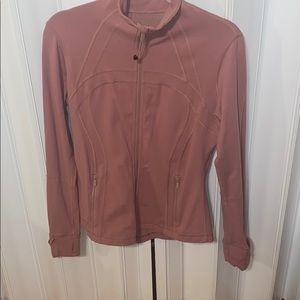 Lululemon rose colored Define Jacket